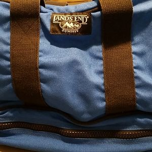Pair of LANDS' END duffle bags